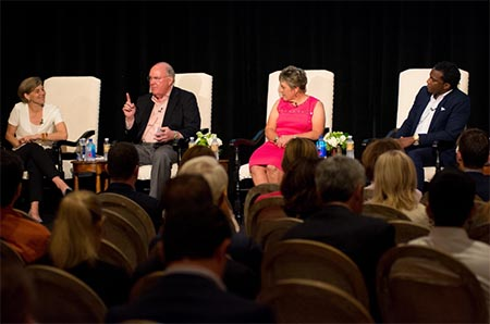 Charlee Garden and panel at Texas Edge event