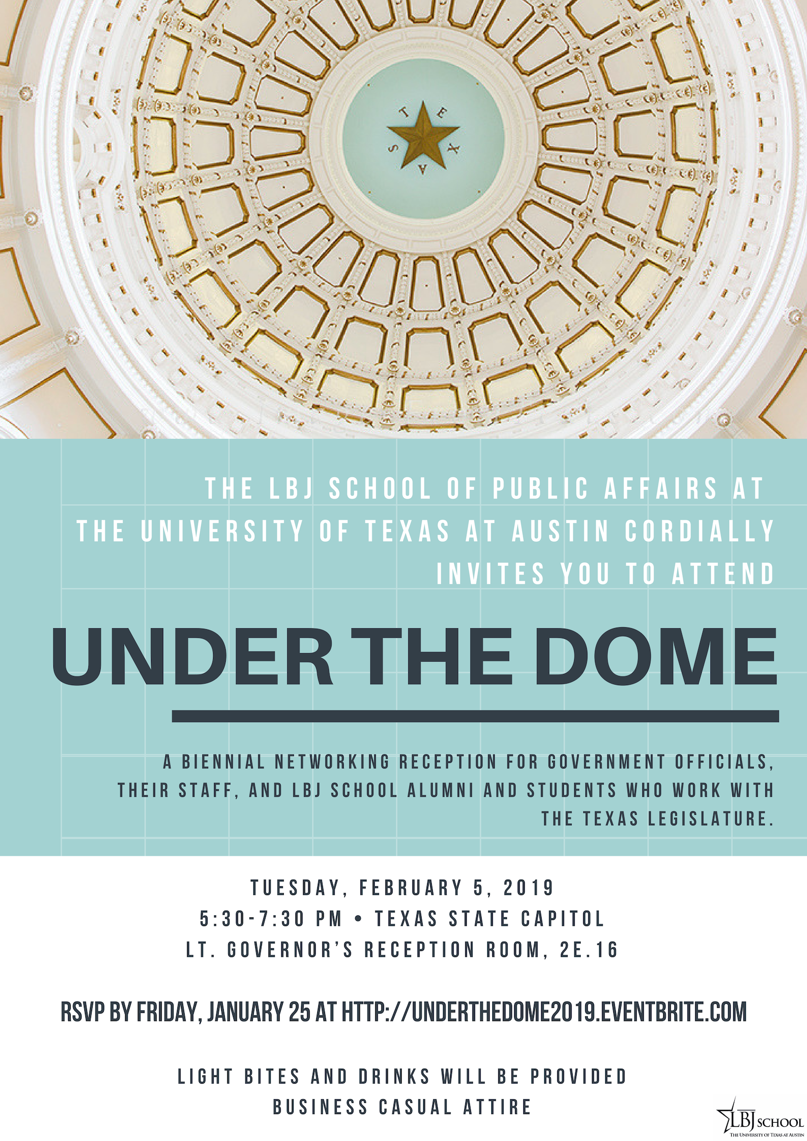 Under the Dome 2019 Invitation