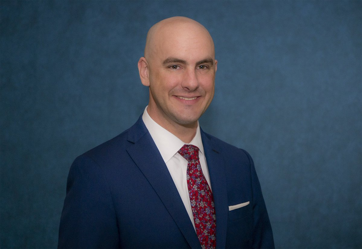 Jeremy Mazur (MPAff '99), director of government relations for the Texas Railroad Commission