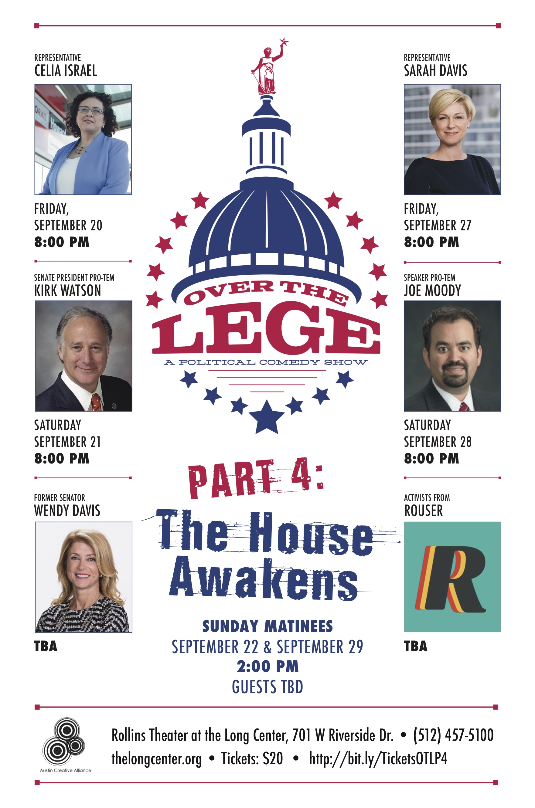 Over the Lege Part 4: The House Awakens