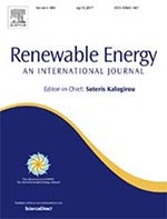 Cover of the Renewable Energy journal